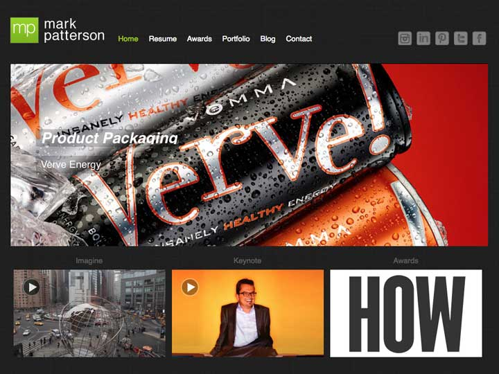 mark patterson web design